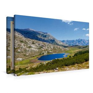 Premium Textil-Leinwand 90 cm x 60 cm quer Lac de Nino, 1743 m