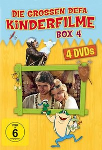 Die grossen DEFA Kinderfilme Box 4 - 4er Schuber - (Das Licht de