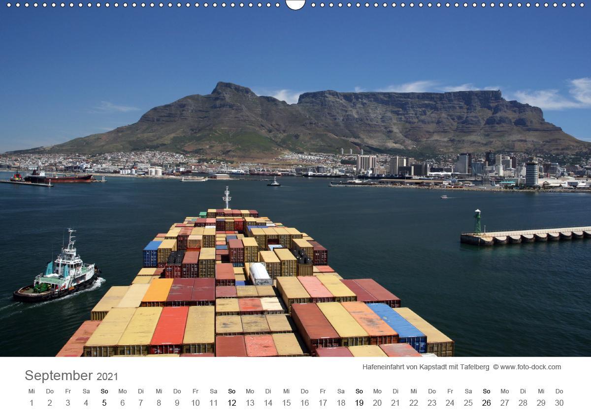 Faszination Schifffahrt - An Bord um die Welt (Wandkalender 2021 - zum Schließen ins Bild klicken
