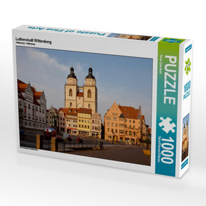 Lutherstadt Wittenberg 1000 Teile Puzzle quer