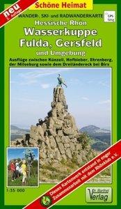 Wasserkuppe, Fulda, Gersfeld und Umgebung 1 35 000