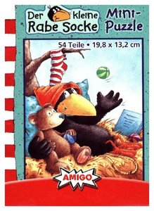 Der kleine Rabe Socke (Kinderpuzzle), Minipuzzle
