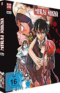 Mirai Nikki - DVD 4