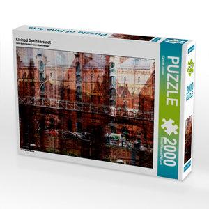 Kleinod Speicherstadt 2000 Teile Puzzle quer