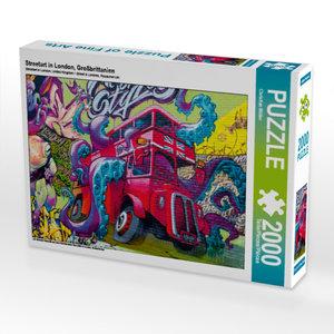 CALVENDO Puzzle Streetart in London, Großbrittanien 2000 Teile L