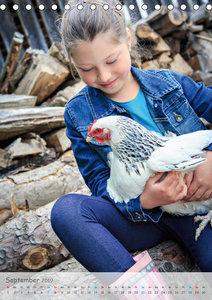 Kinder und Haustiere - wahre Freundschaft (Tischkalender 2019 DI