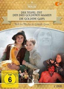"""Märchenperlen \""""GoldBox\"""" - Der Teufel mit den drei goldenen Haa"""