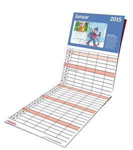 Der Familienkalender 2015