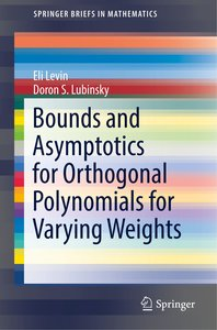 Bounds and Asymptotics for Orthogonal Polynomials for Varying We