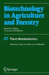 Plant Metabolomics