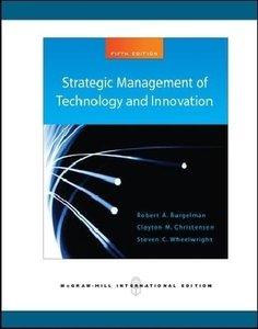 Burgelman, R: Strategic Management of Technology & Innovatio