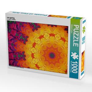 sun gazing 1000 Teile Puzzle quer