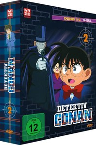Detektiv Conan - die TV-Serie - DVD Box 2