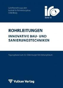 Rohrleitungen - innovative Bau- und Sanierungstechniken