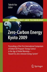 Zero-Carbon Energy Kyoto 2009