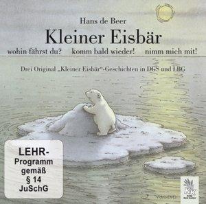 Kleiner Eisbär mit Gebärdensprache