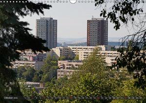 Architektur-Charme der DDR (Erfurt) (Wandkalender 2019 DIN A3 qu