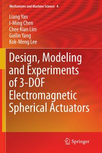 Design, Modeling and Experiments of 3-DOF Electromagnetic Spheri