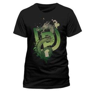 Dragon (T-Shirt,Schwarz,Größe S)