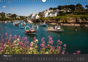 Brittany - Land of the sea - UK-Version (Wall Calendar 2018 DIN