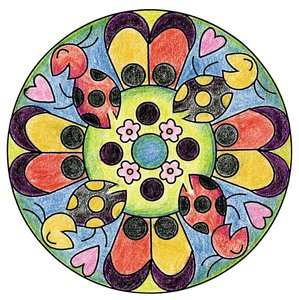 Mini Mandala Romantic