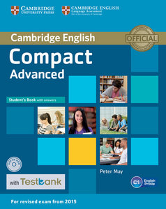 Testbank Compact Advanced. Student's Book with answers and CD-RO
