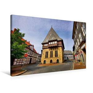 Premium Textil-Leinwand 75 cm x 50 cm quer Bäckergildehaus