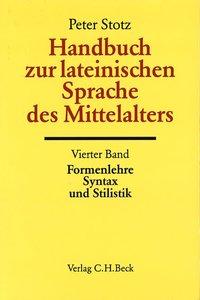Handbuch zur lateinischen Sprache des Mittelalters