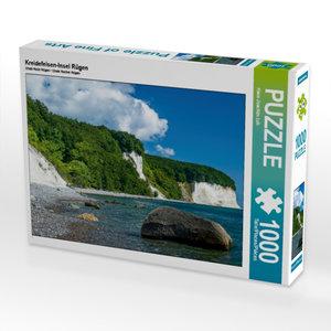Kreidefelsen-Insel Rügen 1000 Teile Puzzle quer