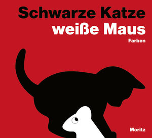 Schwarze Katze, weiße Maus