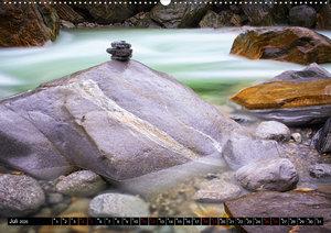 Alles im Fluss - Steine und Wasser