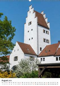 Ingolstadt - Altstadt - unbekannte Ansichten (Wandkalender 2019