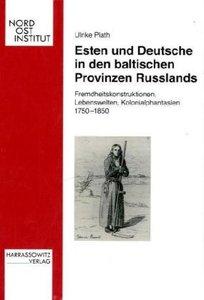 Esten und Deutsche in den baltischen Provinzen Russlands