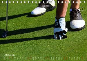 Passion Golf (Tischkalender 2020 DIN A5 quer)