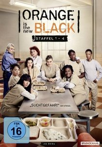 Orange is the New Black. Staffel.1-4, 20 DVDs