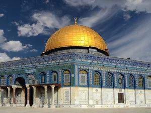 CALVENDO Puzzle Jerusalem, die heilige Stadt 1000 Teile Lege-Grö
