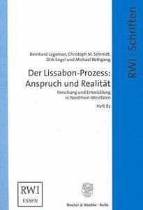 Der Lissabon-Prozess: Anspruch und Realität