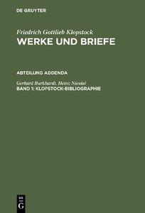 Klopstock-Bibliographie