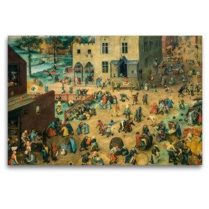 Premium Textil-Leinwand 120 cm x 80 cm quer Kinderspiele - 1560