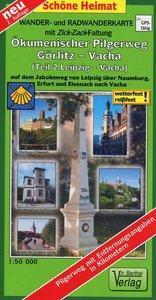 Ökumenischer Pilgerweg Görlitz-Vacha 2 Leipzig-Vacha 1 : 50 000