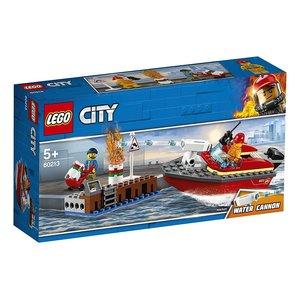 LEGO® City 60213 - Feuerwehr am Hafen, Bausatz