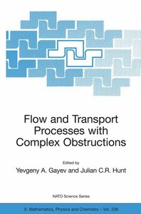 Flow and Transport Processes with Complex Obstructions
