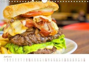 Burger 2019. Kulinarische Impressionen (Wandkalender 2019 DIN A4