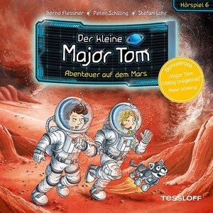 Der kleine Major Tom. Hörspiel 6: Abenteuer auf dem Mars, 1 Audi