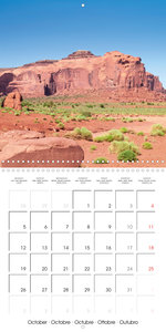 Monument Valley - Gorgeous Scenic Views (Wall Calendar 2020 300