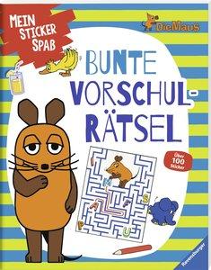 Sticker-Rätsel-mit der Maus Die Maus: Rätselschatz mit der Maus