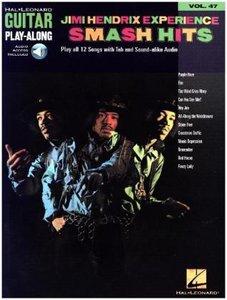 Jimi Hendrix Experience, Smash Hits, Book + Audio-CD