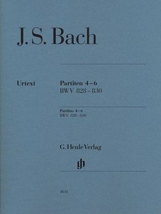 Partiten 4-6 BWV 828-830