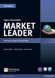 Market Leader Upper Intermediate Coursebook (with DVD-ROM incl.