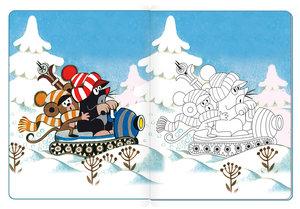 Wintermalbuch - Der kleine Maulwurf